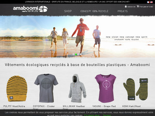 Détails : AMABOOMI 100% RECYCLED