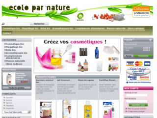 Ecoloparnature.com, boutique bio